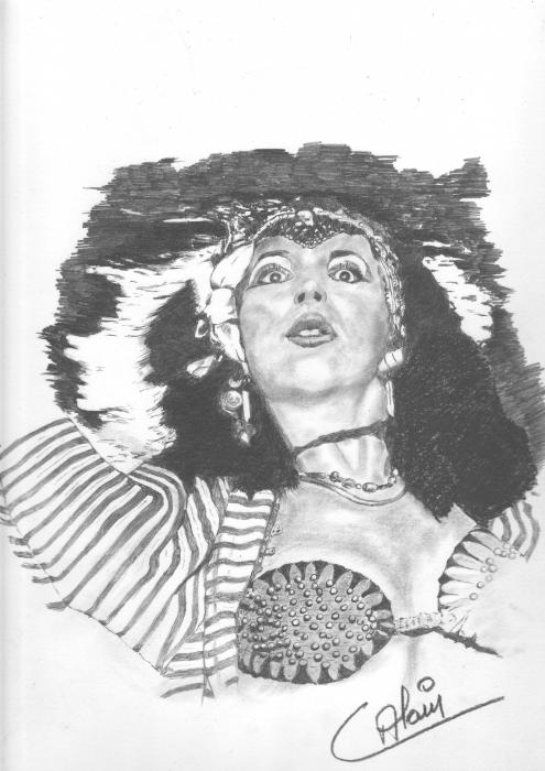 Kate Bush by lharmonica1